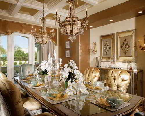 glamour look to your home