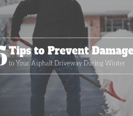 prevent asphalt dDriveway damage gloucester